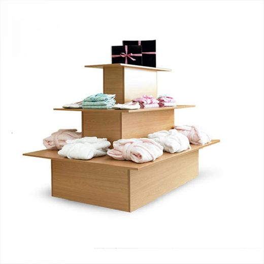 Beautiful Retail Display Unit   This 3 Tier Display Stand Is From Our Standard Range   Pictured In Wood Finish With Matching A Eye Catching Addition To Your  Retail ...
