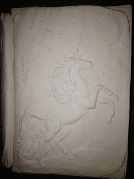 Unicorn Keepsake Trinket Box Book by hellocrafters on Etsy, $8.00