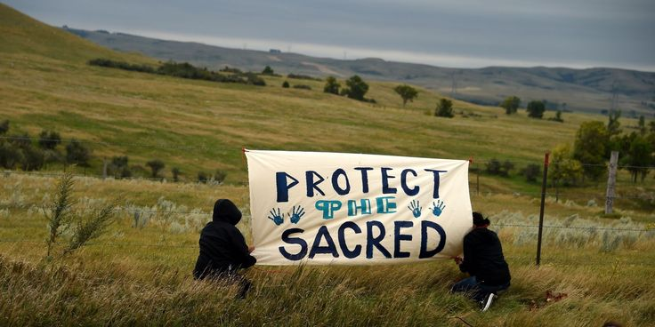 Pipeline Company Desecrates Graves On Sioux Sacred Land