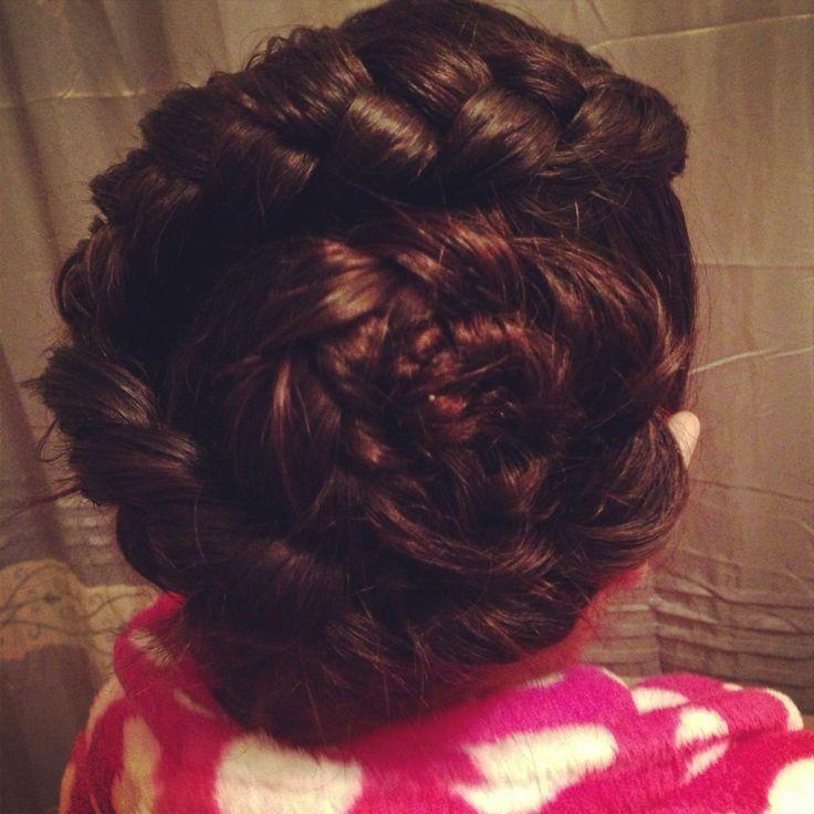 Dutch Flower Braid | Hairdos for Long Hair | Pinterest