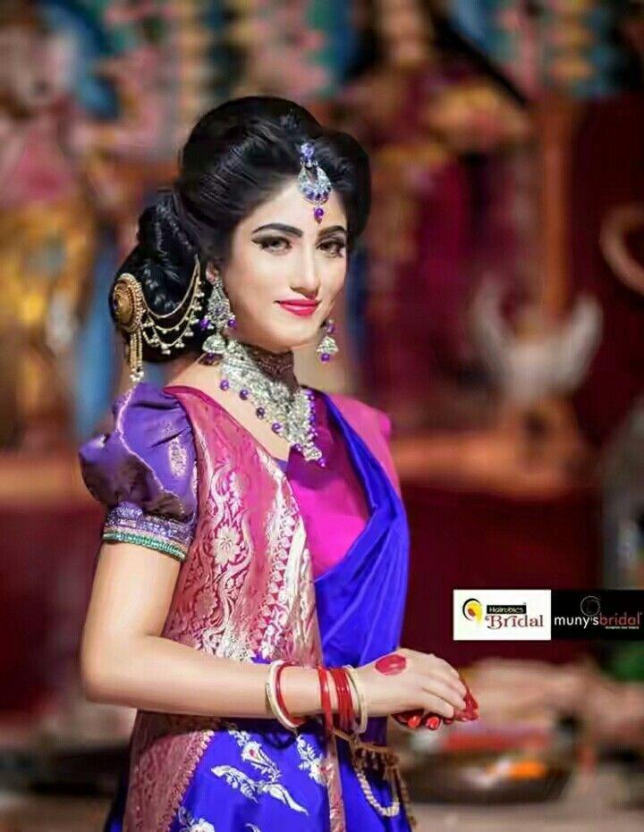 Bangladeshi schönes Mädchen Foto