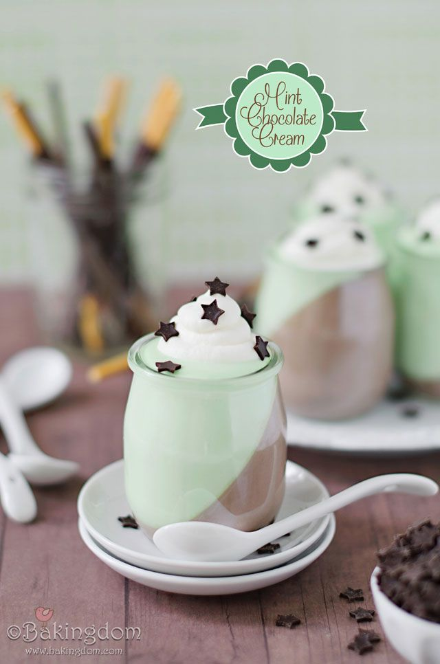 Cool, sweet peppermint and chocolate cream duos. They're pretty good. ;)