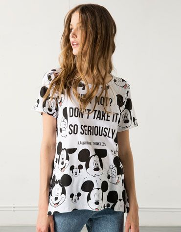 Camiseta Bershka MICKEY $279