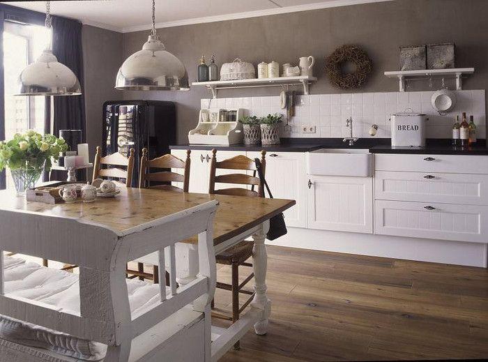 Brocante Keuken Pinterest : , Mijn Keuken, Landelijk Keuken, Brocante Keuken, Landelijke Keukens