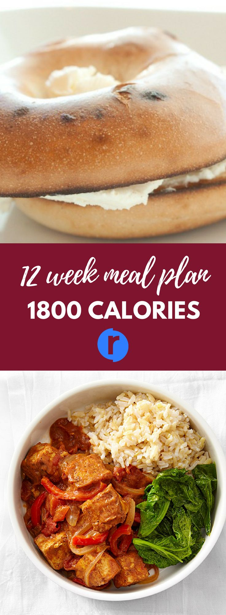 Lifestyle Routines: 12 week meal plan 1800 calories. An 1800 calorie diet plan calls for three meals and three snacks each day to provide your body with sustained energy. Find it at:https://routinr.org/routines/12-week-meal-plan-1800-calories