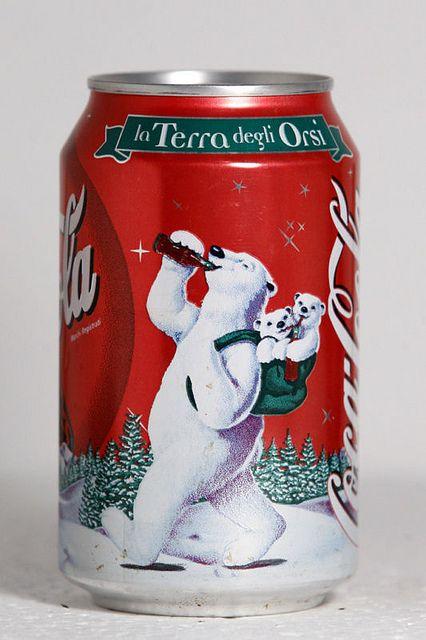 1999 Coca-Cola Italy Christmas Polar Bears