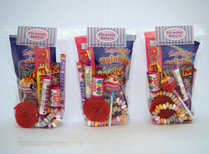 Wedding Favor Bag Filler Ideas : Party Bags Sweets Bags Wedding Favours Christmas Stocking Fillers ...