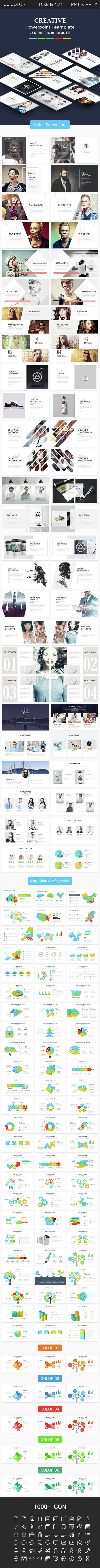 Creative Powerpoint Presentation Template. Download here…