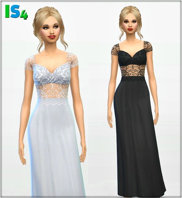 Sims 4 prom dress and converse