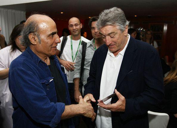 Amir naderi and Robert De niro