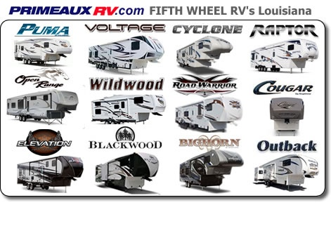 Check Out Our Line Of Fifth Wheel Campers Featuring Puma