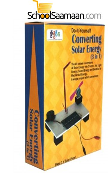 Converting Solar energy