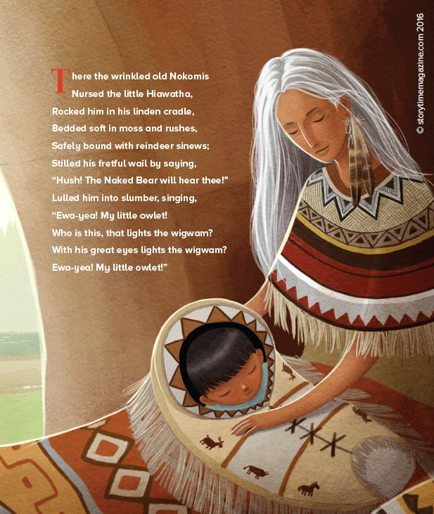 best hiawatha poem ideas teachit languages  a beautiful illustration from our storytime issue 18 poem hiawatha art by andre ceolin
