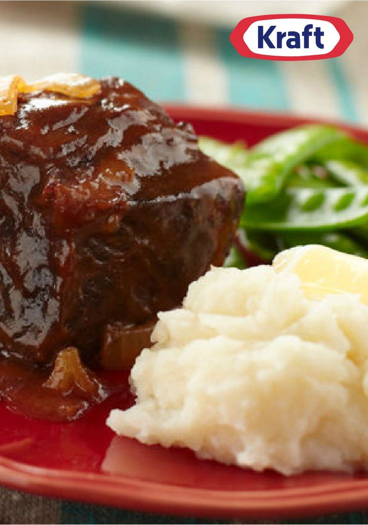 Slow-Cooker BBQ Short Ribs – Brisket, move over. BBQ-sauced short ribs are here, ready to give you a run for your money in the tender-and-juicy slow-cooker recipe category.