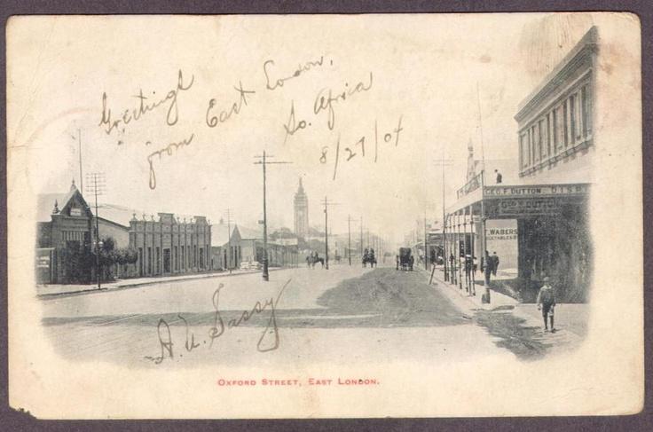 East London-South Africa-1904-Oxford Street-Postcard | eBay