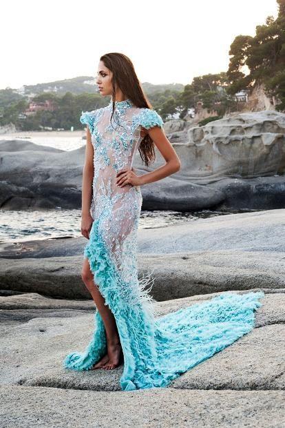 Anna Romysh Haute Couture - Tilia dress