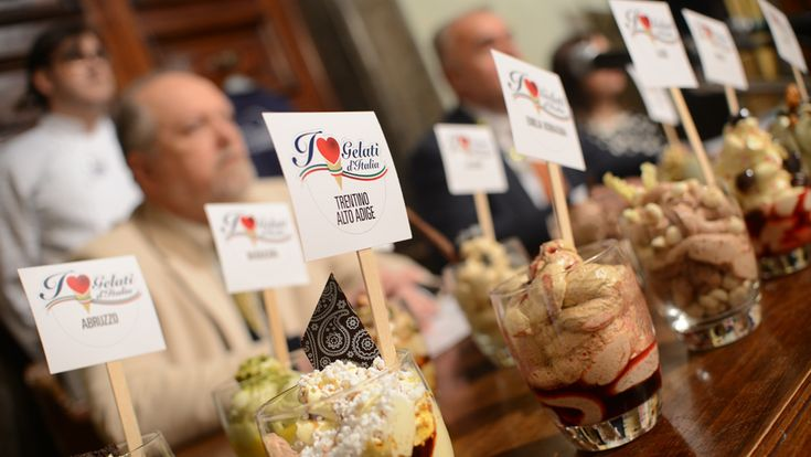 Orvieto will host the Gelati D'Italia event from May 1-4