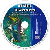 Hei Waiata CD cover.