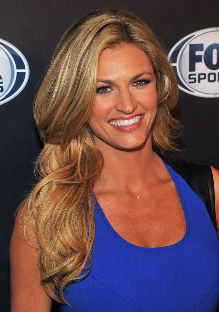 Erin Andrews attends the 2013 Fox Sports Media Group Upfront after party at…