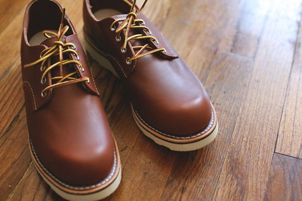 Red Wing Plain Toe Oxford