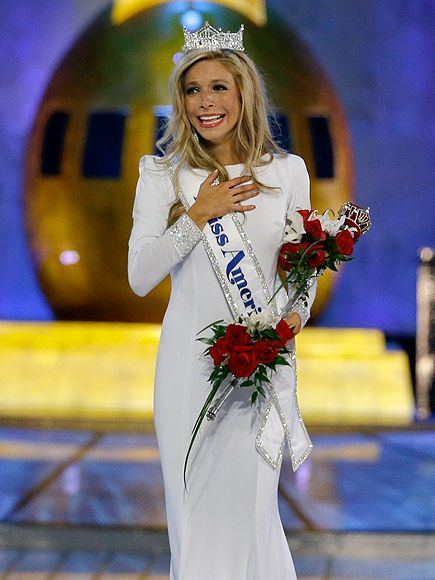 Miss New York Crowned Miss America for the Third Year in a Row http://www.people.com/article/miss-america-kira-kazantsev-miss-new-york