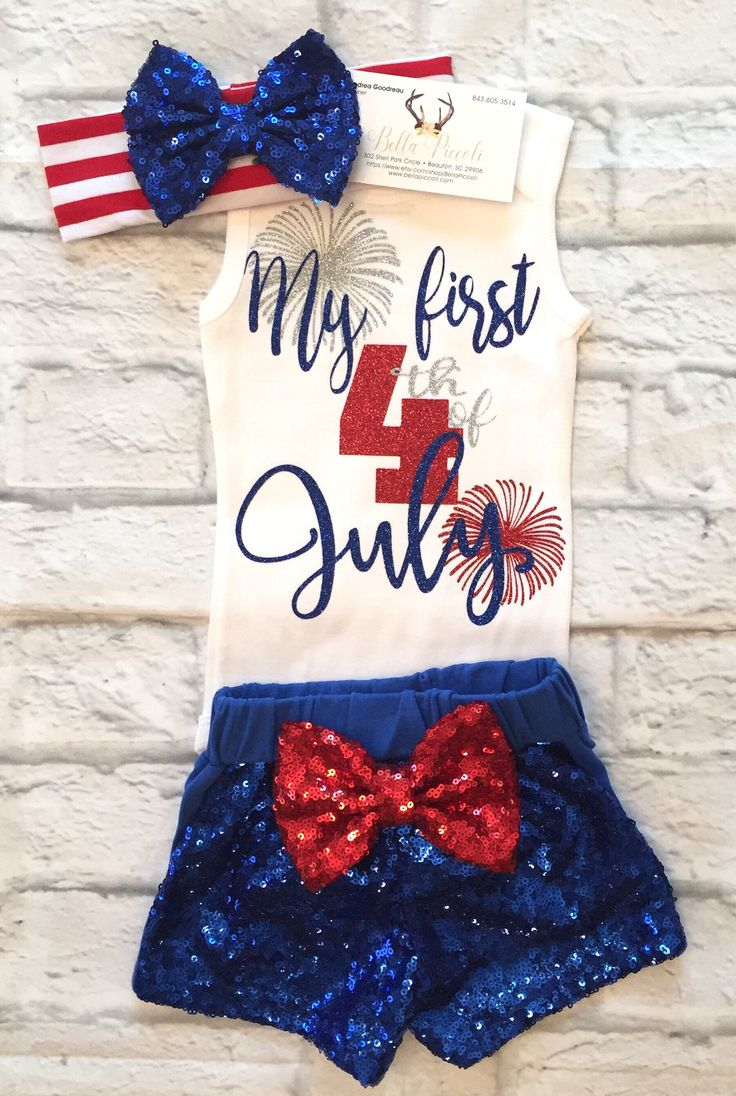 A personal favorite from my Etsy shop https://www.etsy.com/listing/529408787/baby-girl-clothes-fourth-of-july-my