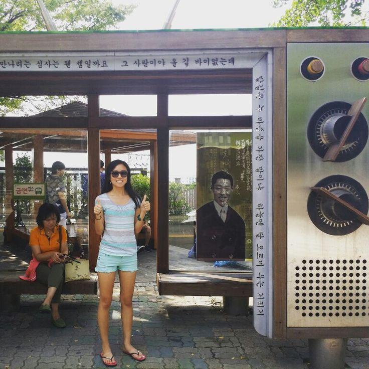 Tanya ha salido en la #TV #coreana   #paseo #tanyayjavi #conecta2enlared #verano