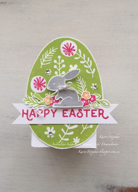 Karen Farquhar | Just Hopped By | Stampin' Up!