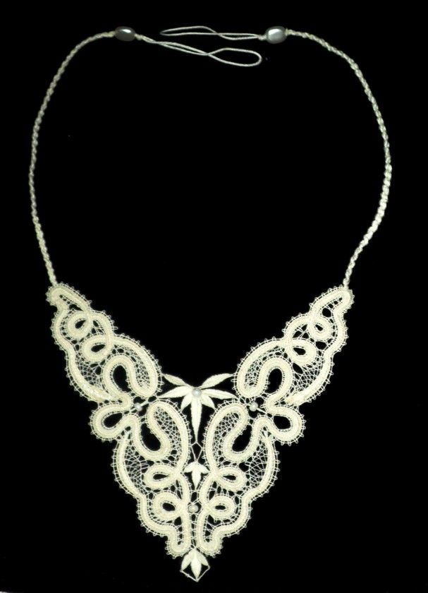Bobbin Lace, necklace