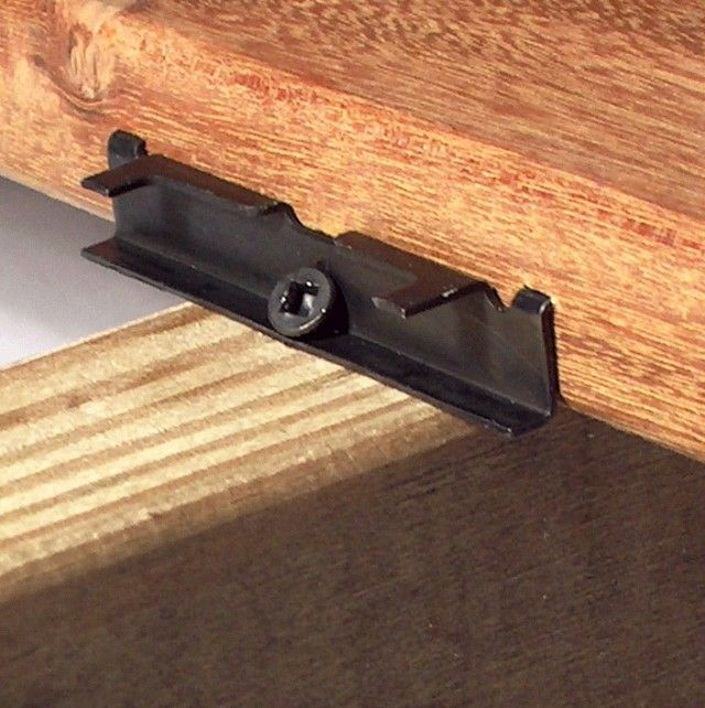 Hidden Deck Fasteners Comparison