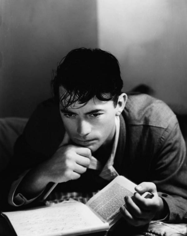 Gregory Peck - I would go back in time and marry this man in an instant.