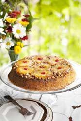 Gateau � l'ananas made in Usa ou Pineapple Upside-Down Cake