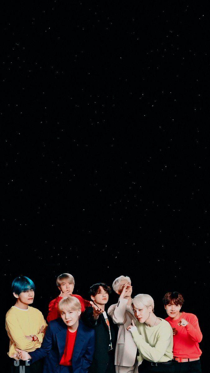 BTS Keyboard Wallpaper