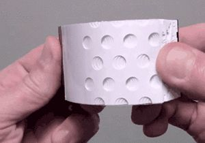 Hole punch flip book. I can't stop watching it.