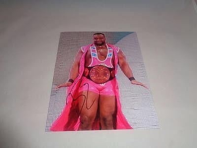 Big E Langston (NEW DAY) WWE autograph 8x10 COA Memorabilia Lane