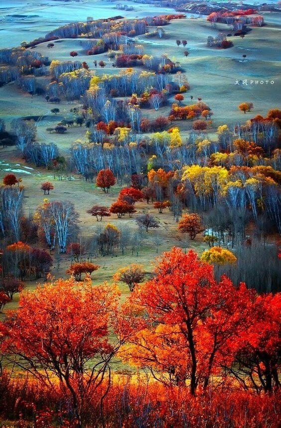 Autumn in Scottish Highlands Mais  Scotland