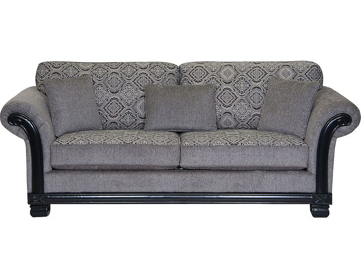 Hazel Chenille Sofa - Grey, (HAZELG-S) | The Brick
