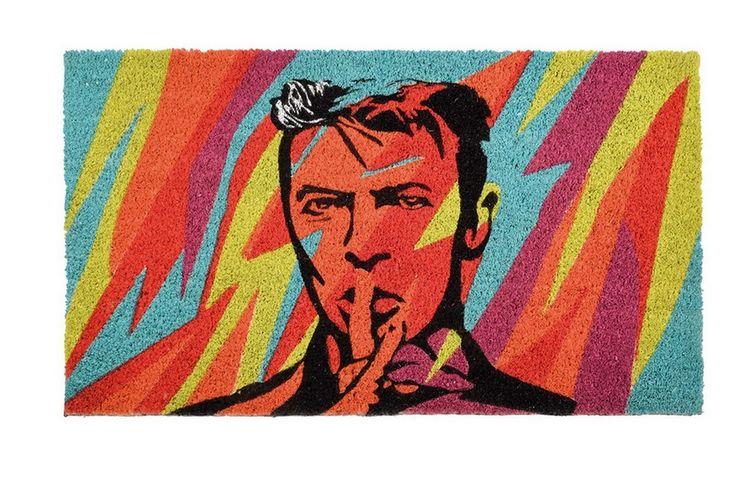 """Fußmatte Pop Art """"Bowie"""""""