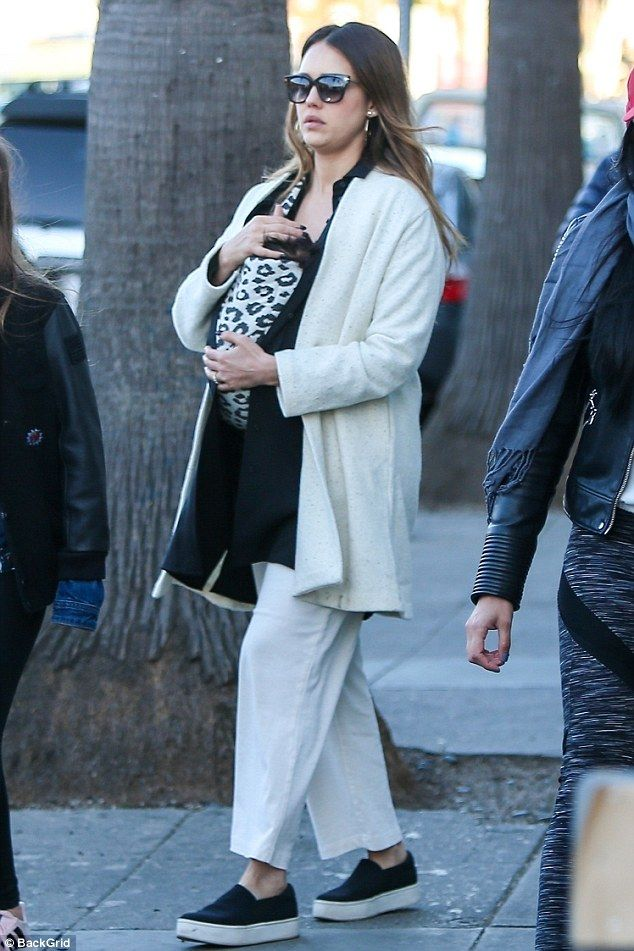 Jessica Alba takes baby Hayes for a stroll around Venice  Her son Hayes Warren is less than two months old.  But Jessica Alba is already making sure to get her familys latest addition out and about as much as possible taking him for a stroll with friends in Venice on Sunday after a trip to a Beverly Hills park on Saturday.  The 36-year-old Sin City starlet kept the baby in a leopard print sling for the outing.   Changing her spots! Jessica Alba is making sure to get her familys latest…