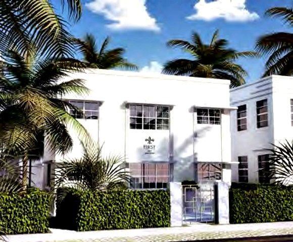 Casa a Miami, Florida, Art Nouveau