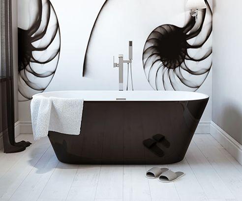 Aalto Freestanding Bath 1650 x 735mm - V32171020 scene square medium