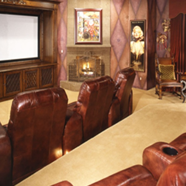 201 Best Images About Movie Rooms,Basements,& Hangout