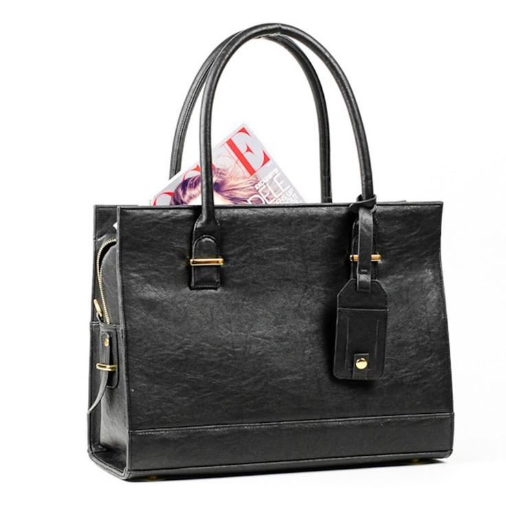"Women's Laptop Bag - ""New York"" Style Computer Bag / Briefcase / Messenger Bag / Satchel from GRACESHIP. $149.99, via Etsy."