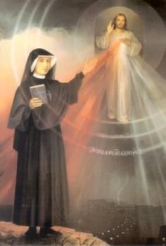 """Be part of St Faustina's vision: """"O what a great multitude of souls I see! They worshiped the Divine Mercy & will be singing the hymn of praise for all eternity"""" (Diary, 848)"""