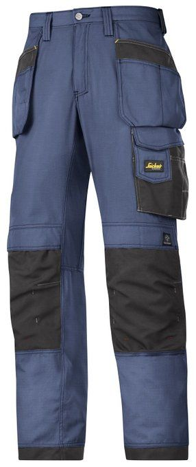 Snickers Ripstop Craftsmen Holster Pocket Trousers - 2 Colours / 30 Short - 38 Reg: Amazon.co.uk: Clothing