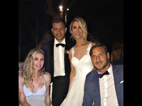 Ilary Blasi e Francesco Totti alle nozze di Melory e il fidanzato storic...