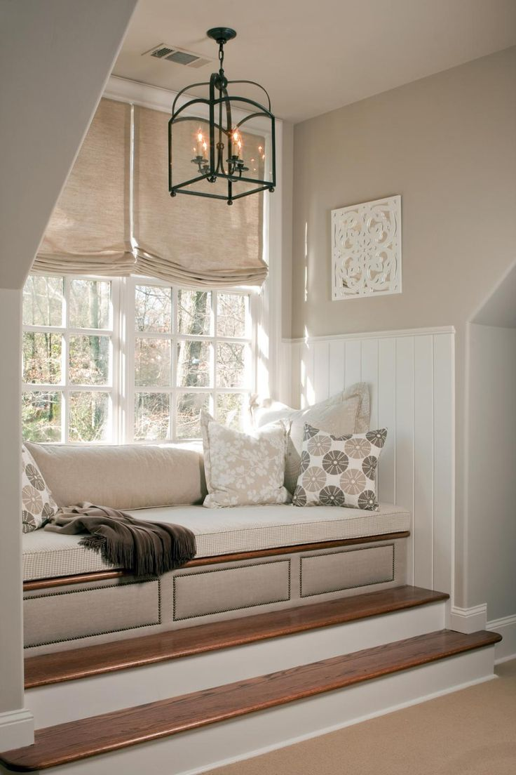 Cozy Window Seats We Love. 17 Best ideas about Bedroom Window Treatments on Pinterest