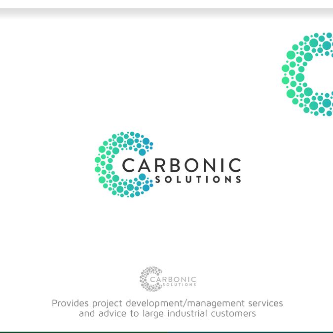 Create an identity for a new industrial company involved in the capture and processing of CO2. by R.A.T.N.A