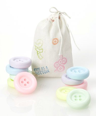 Take a look at this Button Soap Set by LATIKA on #zulily today!