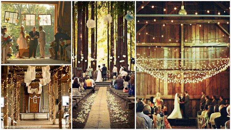 Ślub w stodole!